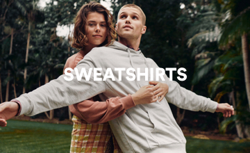 Men's Sweatshirts. Click to Shop.