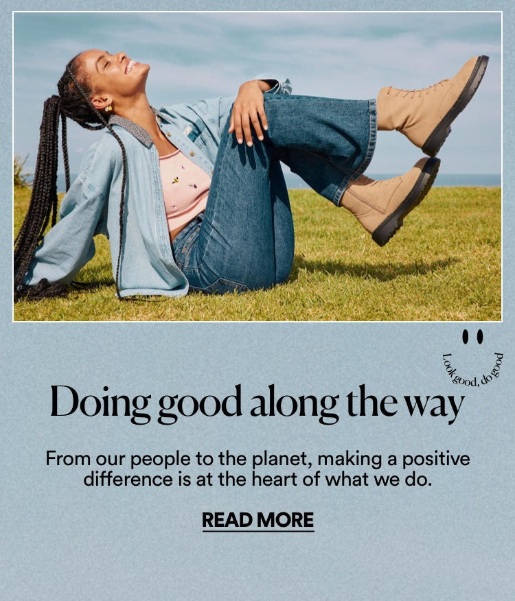 Doing good along the way. Read more.