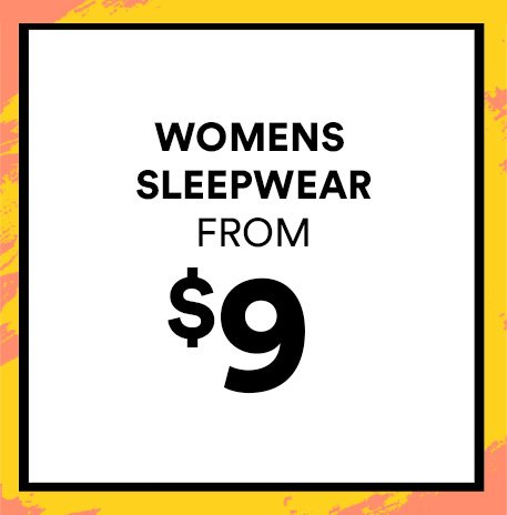 Women's Sleepwear from $9