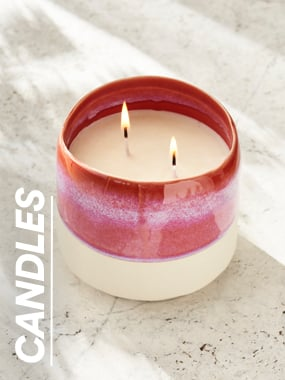 Candles. Click to shop.