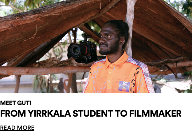 Meet Guti from Yirrkala. Read More