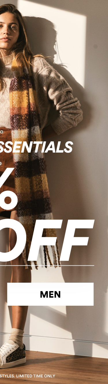 30% Off Mens Winter Essentials. Click to Shop.
