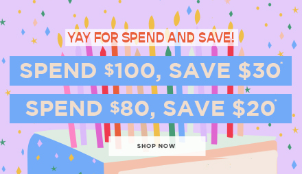 Spend and Save! Shop Kids.