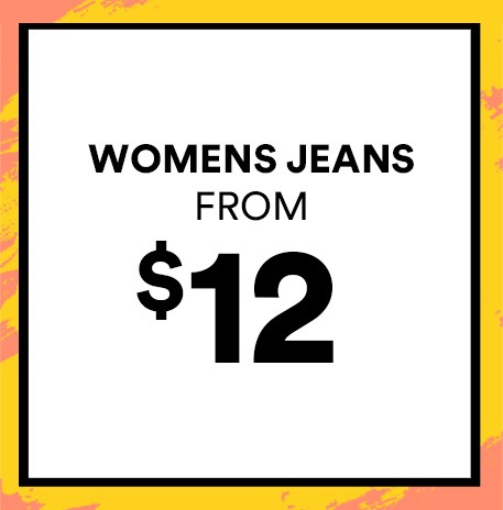 Women's Jeans from $12