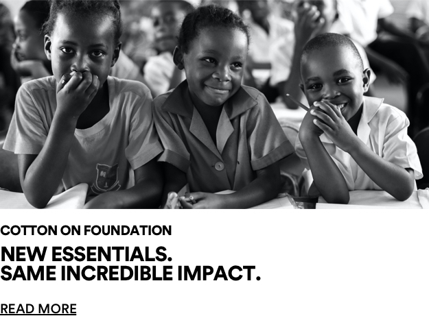 Doing Good. Foundation essentials. Click for more information.