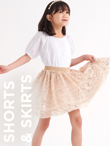 Click to Shop Shorts and Skirts