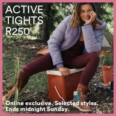 Active Tights R250. Click to Shop