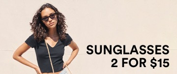 Women's Sunglasses. Click to Shop.