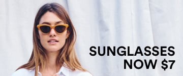 Women's Sunglasses Now $7. Click to Shop.