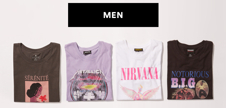 Is that vintage? Graphic Tees, 2 for $25. Click to shop