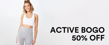 Buy One, Get One 50% OFF Womens Active. Click to Shop.