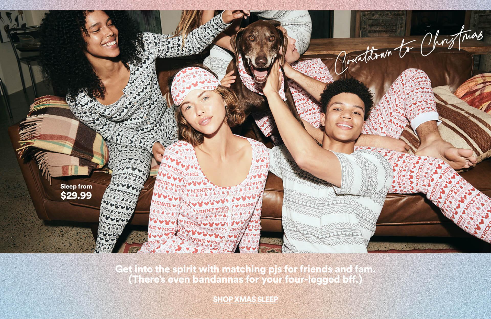 Wake up with Body. Women's Sleepwear. Click to Shop.
