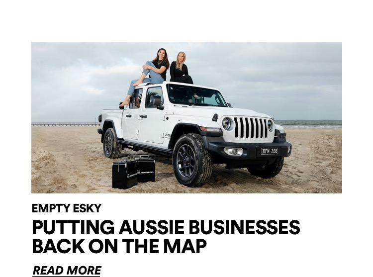 Putting Aussie businesses back on the map. Click for more information.