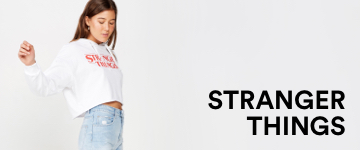 Stranger Things Tees. Click to Shop.