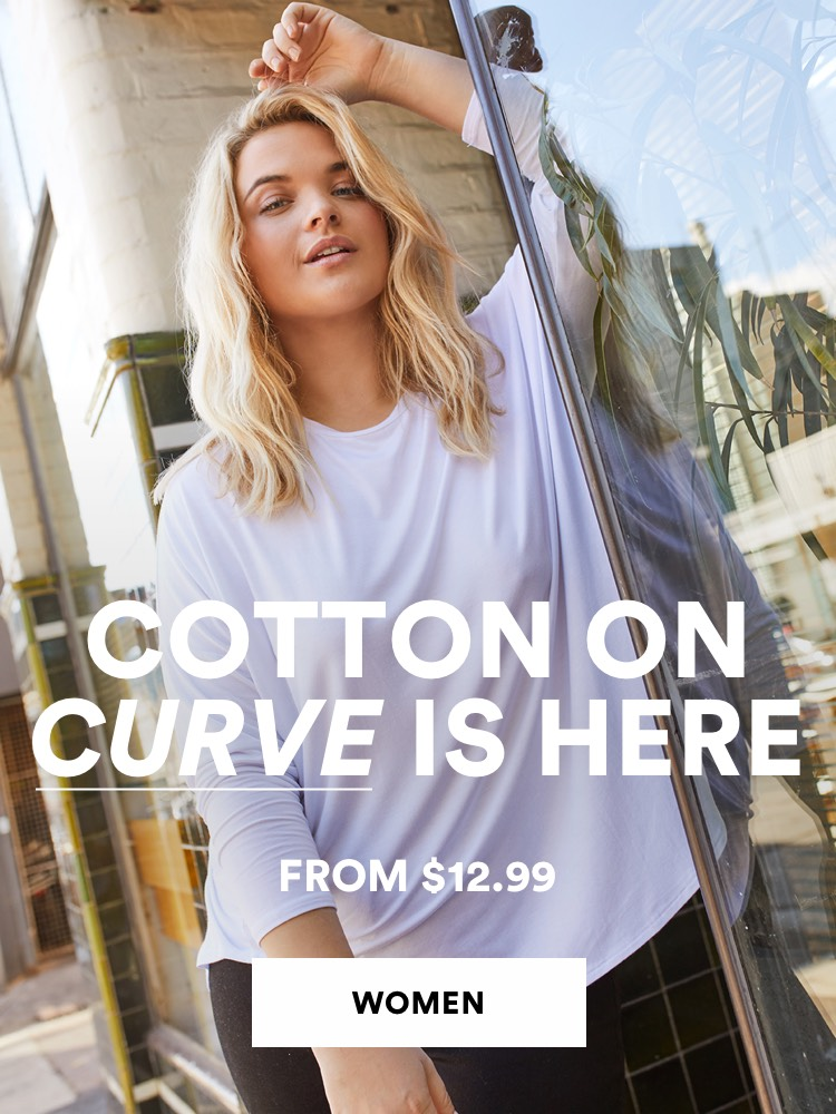 Cotton On Curve is here. From $34.99 Click to shop