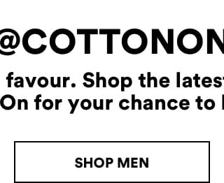 Cotton On. Shop Men's.