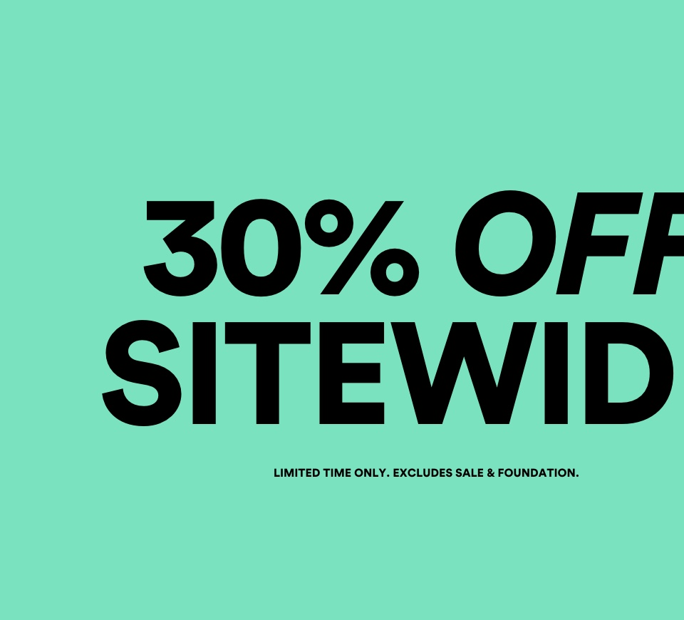 30% Off Sitewide. Click To Shop Womens