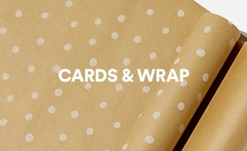 Cards & Wrap. Click to Shop.
