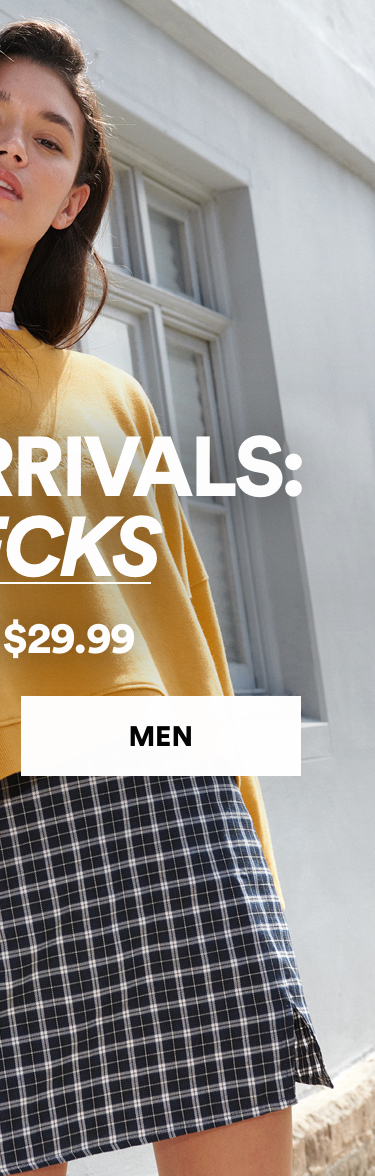 New Arrivals from $29.99. Click to Shop Men.