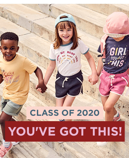 Class of 2020, You've Got This. Click to Shop.
