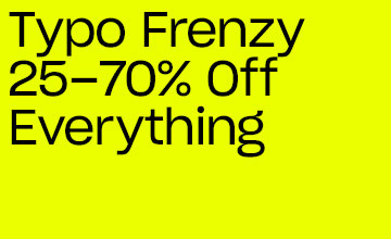 Typo Frenzy. Click to Shop.