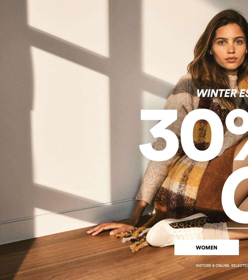 30% Off Womens Winter Essentials. Click to Shop.