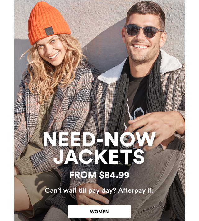 4ef13f09505 Women. Need-Now Jackets From  84.99. Click to Shop. Men.
