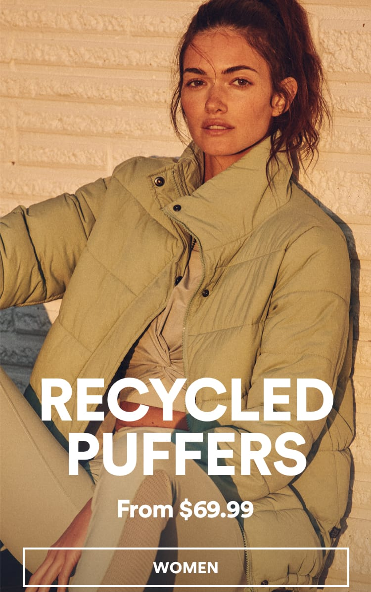 Cotton On Puffer Jackets. Click to Shop Womens.