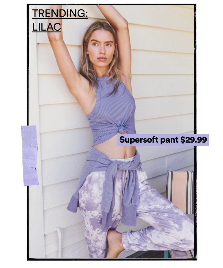 Women's Lilac Edit. Click to Shop