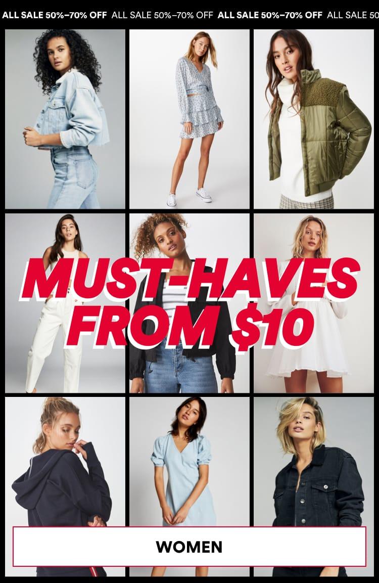Women Sale. Click to Shop.