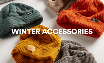 Winter Accessories. Click to Shop.