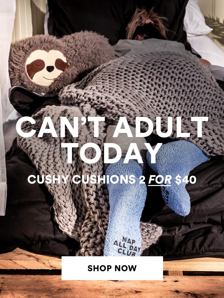 Cushy cushions 2 for $40. Shop Now.