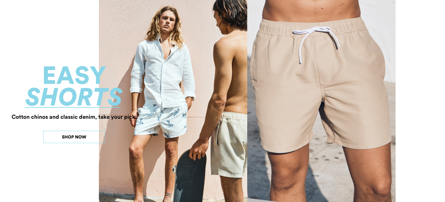 Cotton On Shorts. Click to shop.
