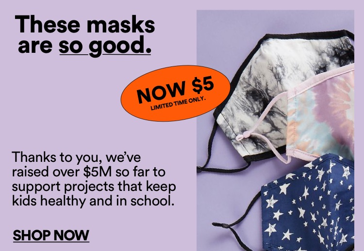 Cotton On Foundation Face Masks. Click to Shop.