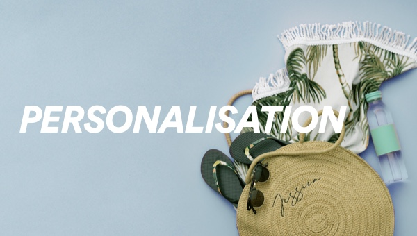 Personalisation. Shop Now.