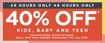 Shop 40% off Selected styles