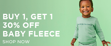 Baby Fleece. Shop Now.