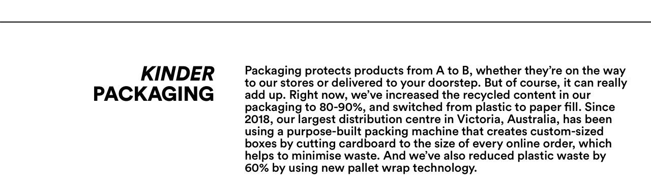Kinder Packaging