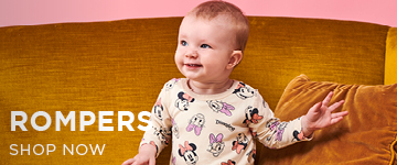 Baby Rompers. Shop Now.