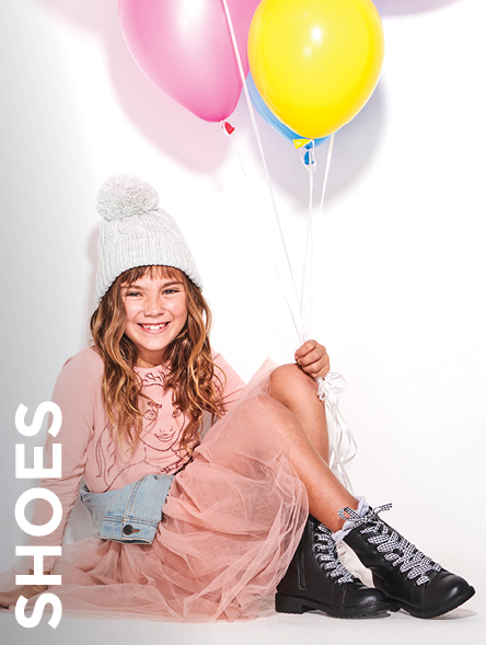 Click to Shop Girls Shoes