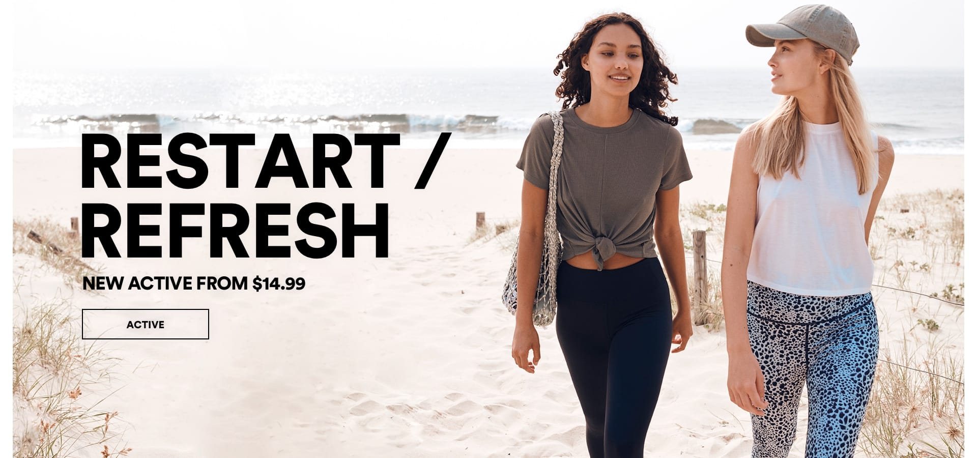 Restart / Refresh. Shop New Active.
