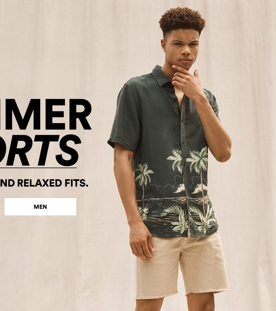 Summer Shorts. Shop Men.