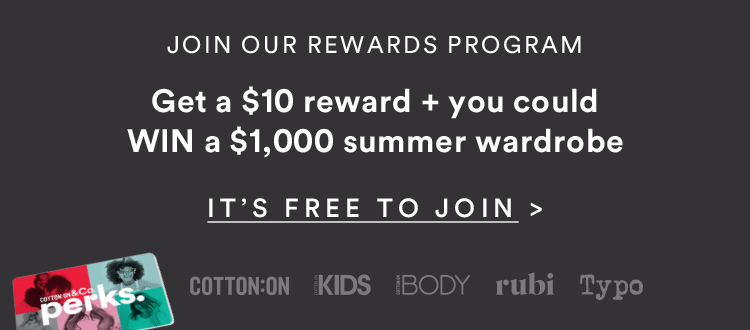 Perks: Join Now
