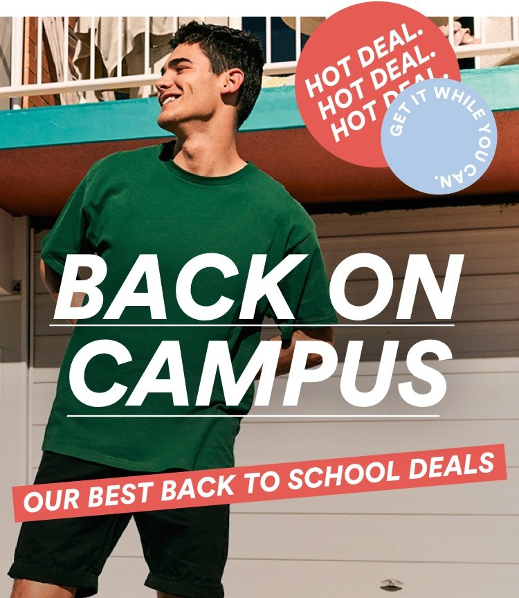 Our Best Back to School Deals
