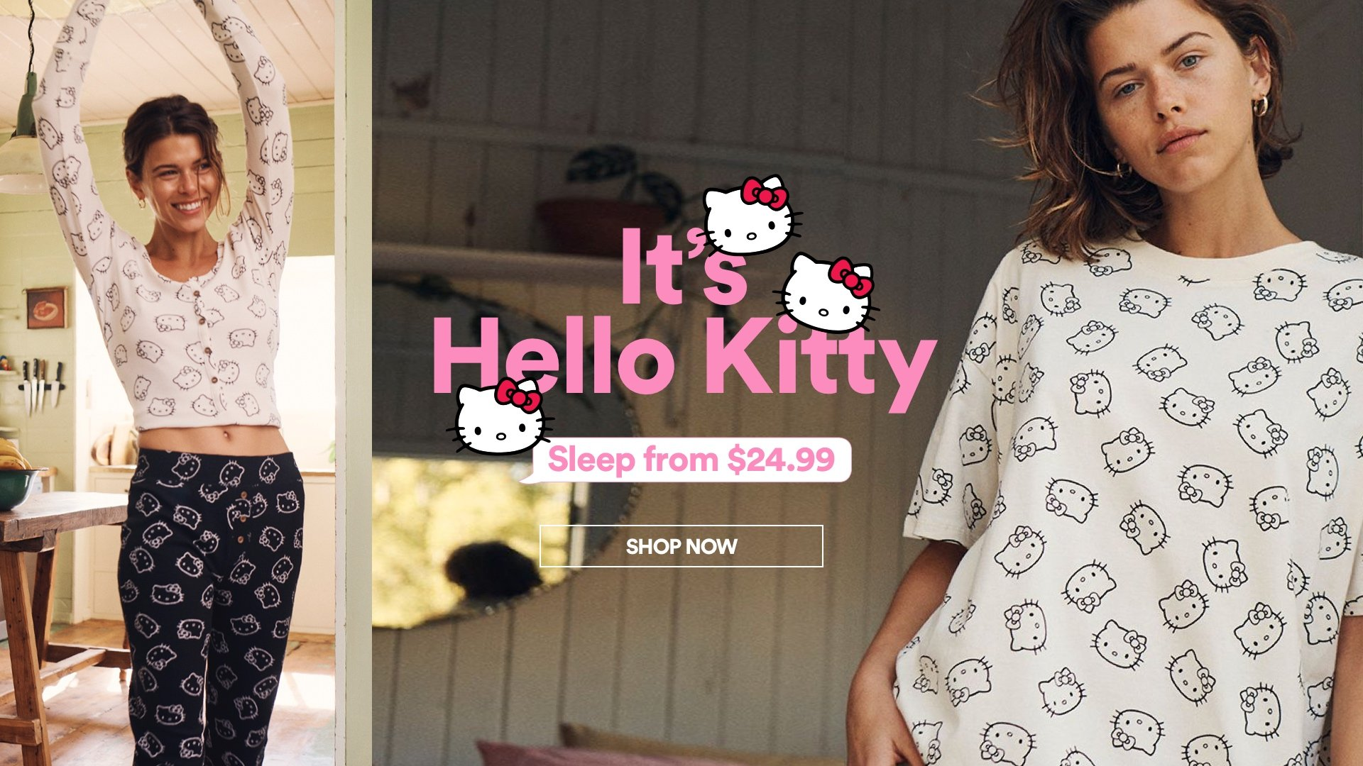 It's Hello Kitty. Click to shop sleep.