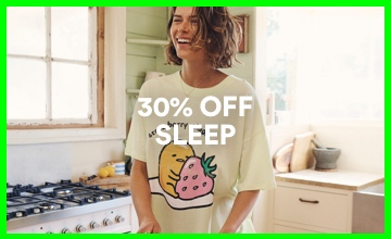 30% off Women's Sleepwear. Shop Now