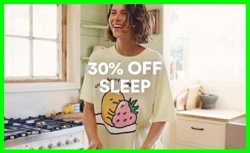 30% off Women's Sleepwear. Shop Now