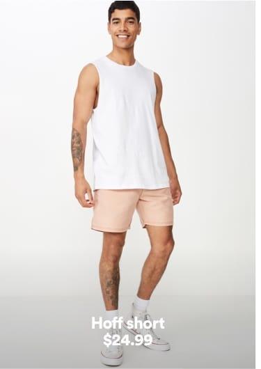Men's Hoff Short. Click to shop.