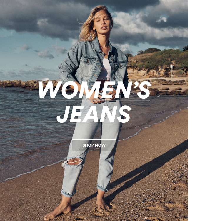 Womens Jeans. Click to shop.