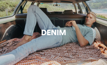 Men's Denim. Click to Shop.